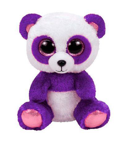 Panda-Beanie-Boo-Peluche-Lilas-15-cm