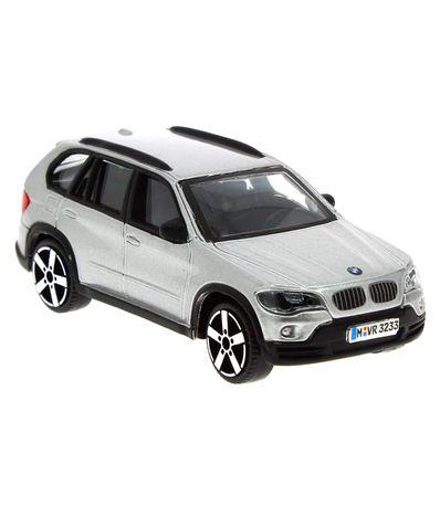 Coche-Miniatura-BMW-X5-Gris-1-43