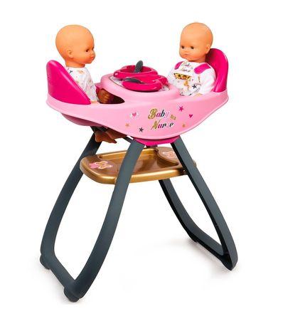 Trona-Gemelar-2-en-1-para-Muñecos-Bebe