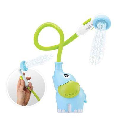 Ducha-Baño-Elefante-Azul