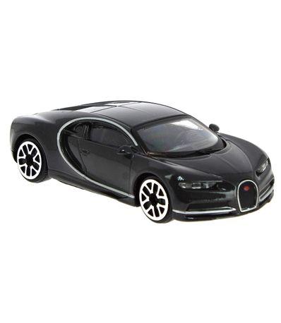 Coche-Miniatura-Street-Fire-Bugatti-Gris-1-43