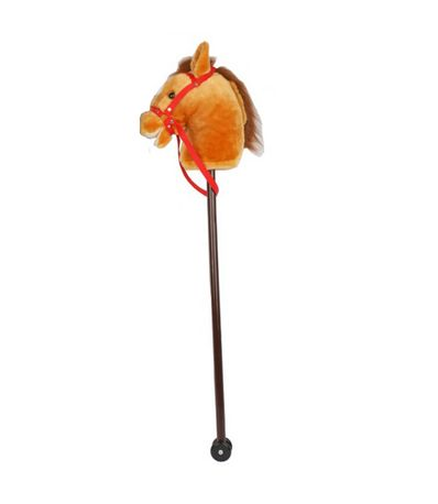 Cavalo-de-Pau-Marrom-com-Som