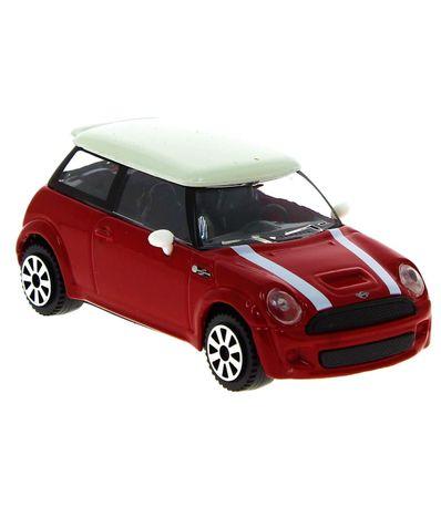 Coche-Miniatura-Street-Fire-Mini-Rojo-1-43