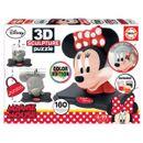 Minnie-Mouse-Puzzle-3D-Color