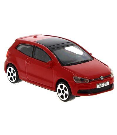 Coche-Miniatura-Street-Fire-Volkswagen-Polo-1-43