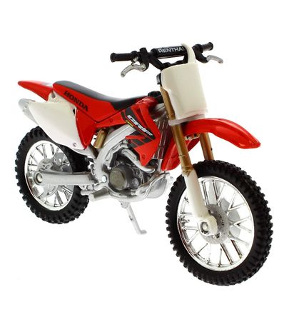 Moto-miniature-Honda-CRF450R-echelle-1-18