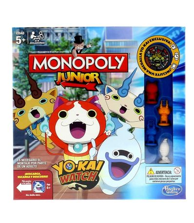 Monopoly-Junior-Yo-Kai-Watch
