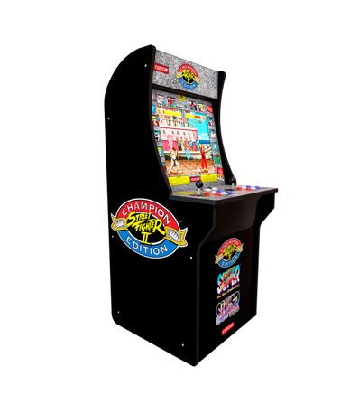 Cabina-Arcade1UP-Street-Fighter-II