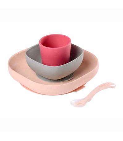 Vajilla-4-pzas-silicona-Rosa