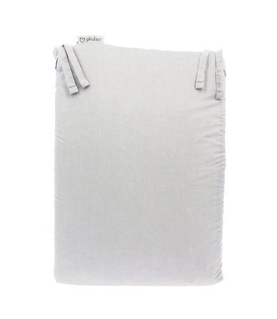 Protector-de-Cuna-60-120-cm-Blanco-Liso