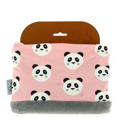Cachecol-Polar-Panda-Rosa
