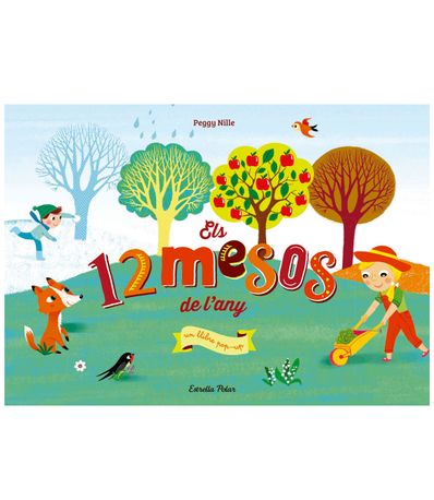 Libro-Pop-Up-els-12-Mesos-de-l-Any