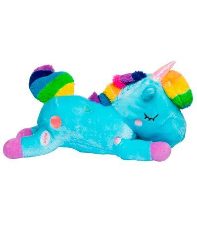 Peluche-Unicornio-con-Luz-Azul