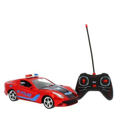 Coche-Policia-Rojo-R-C-a-Escala-1-16