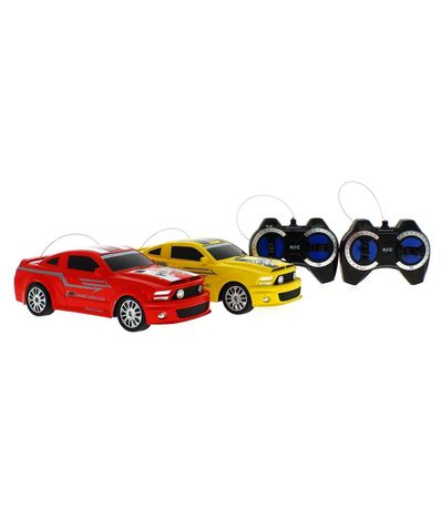 Coches-RC-Racing-Amarillo-y-Rojo