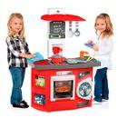 Cozinha-Infantil-Vermelha