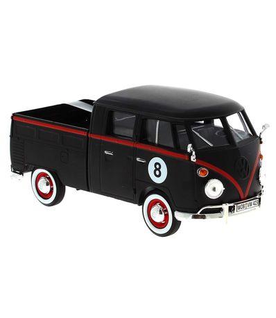 Miniatura-Volkswagen-Van-Negra-1-24