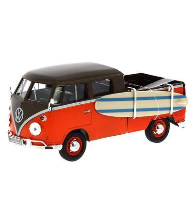 Miniature-Volkswagen-Van-Brown-Orange-Surf-1-24
