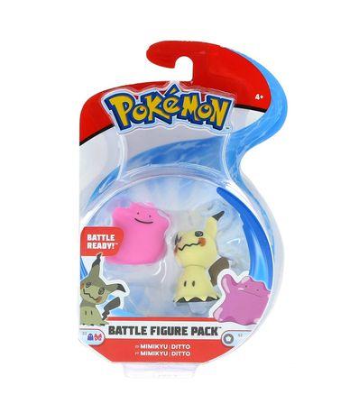 Pokemon-Figuras-de-Combate-Mimikyu---Ditto