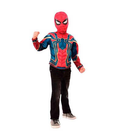 Spiderman-Disfarce-Iron-Spider-Infinity-War