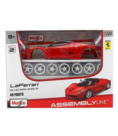 Maquete-Carro-Ferrari-Laferrari-escala-1-24