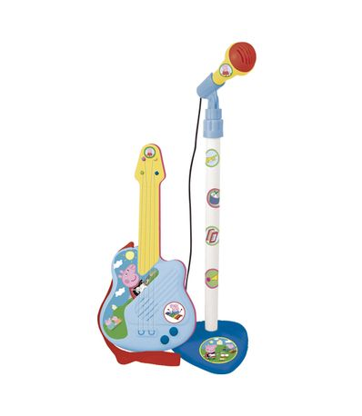 Peppa-Pig-Micro-Guitare-electrique