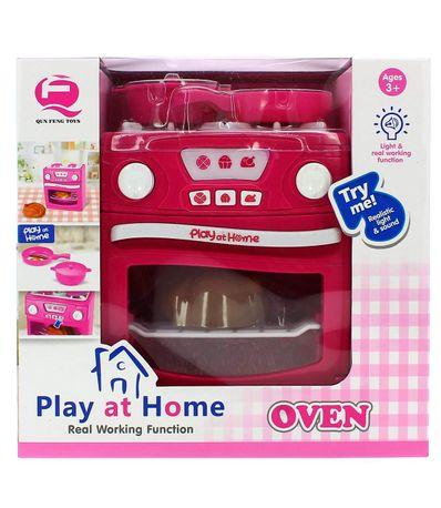 Forno-e-Cozinha-de-Brinquedo-com-Luz-e-Som