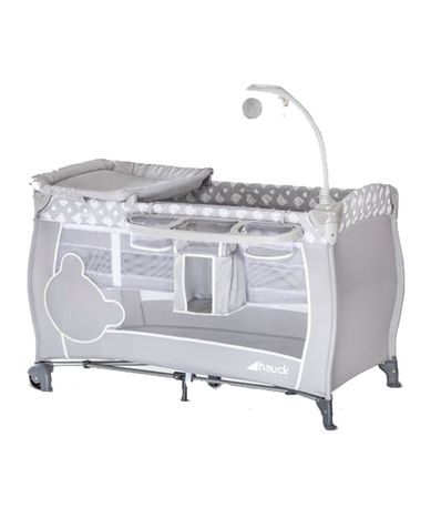 Cuna-viaje-2-alturas-Baby-Center-Grey