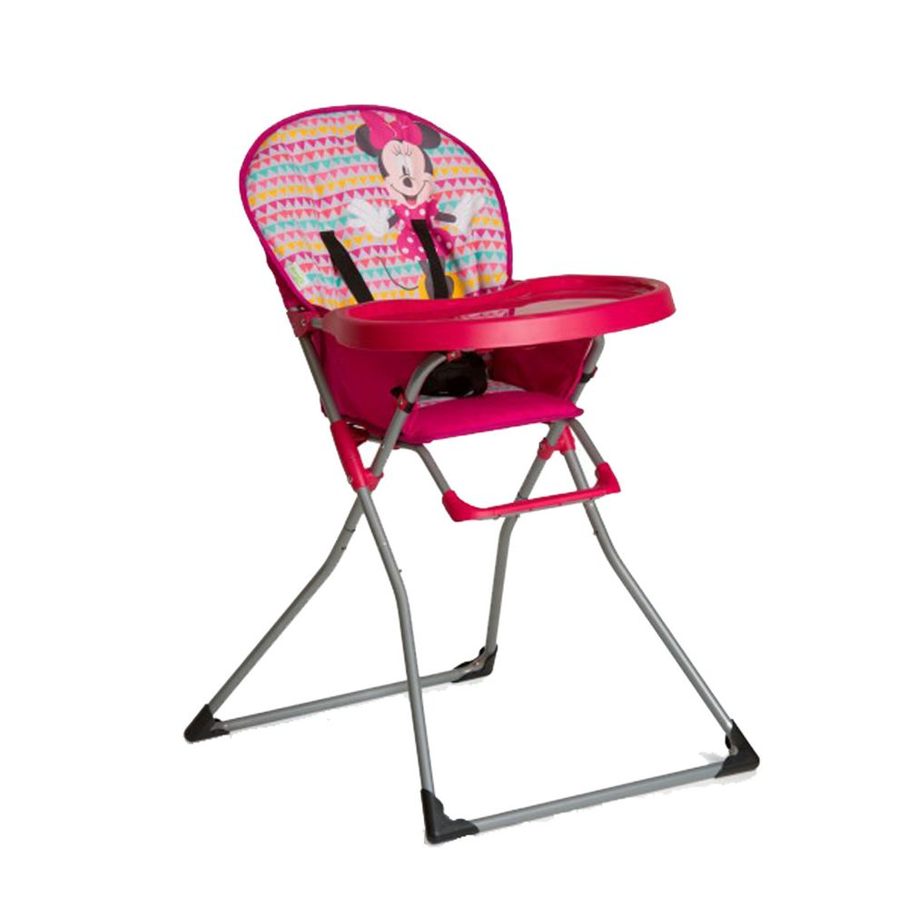 Chaise Haute Pliante Minnie Pour Bebe Mac