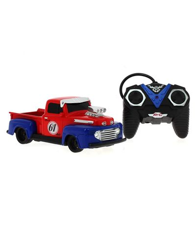 Pick-Up-American-Vintage-Roja-R-C-a-Escala-1-24