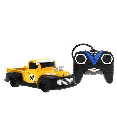 Pick-Up-American-Vintage-Amarelo-R---C-Escala-124