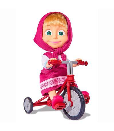 Masha-et-la-poupee-Ours-avec-Tricycle