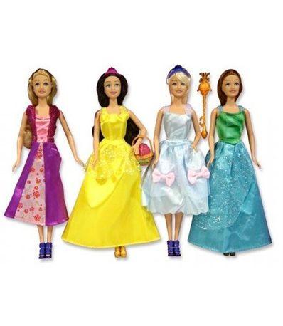 Set-4-Princesas-Muñecas