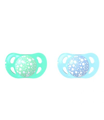 Pack-2-Chupetes-Silicona--6-Meses-Azul-Verde