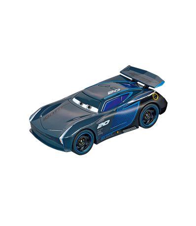 Slot-Cars-3-voitures-Jackson-tempete-Echelle-1-43