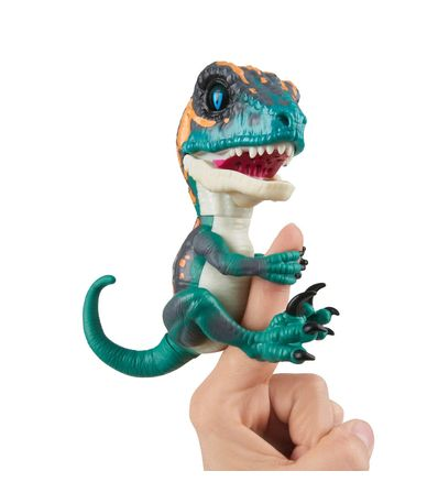 Fingerling-Velociraptor-Verde-y-Naranja