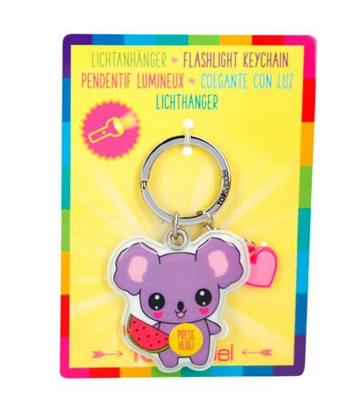 Top-Model-Llavero-con-Luz-Koala-Kawaii