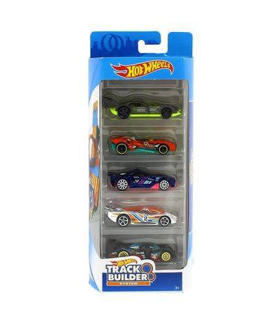 Hot-Wheels-Pack-5-Vehiculos-Track-Builder-System