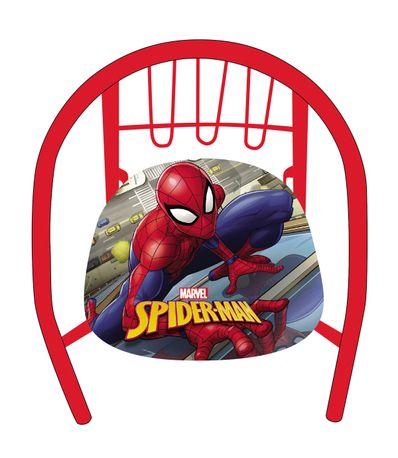 Spiderman-Silla-de-Metal-Infantil