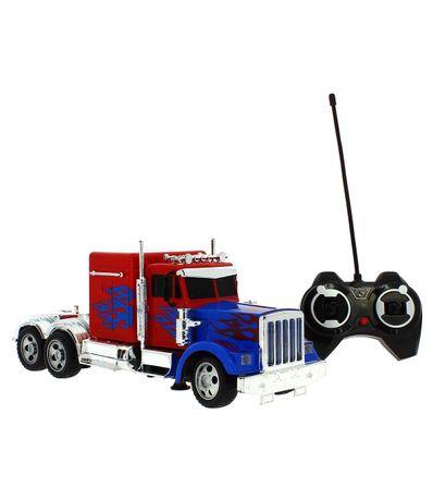 Camion-Americano-Rojo-R-C
