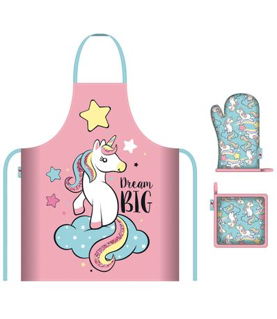 Set-Delantal-Unicornio-Infantil