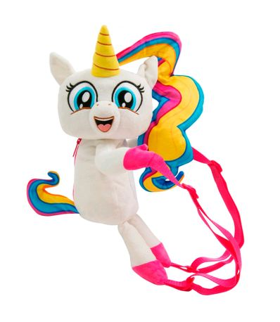 Fingerlings-Mochila-Unicornio-de-Peluche