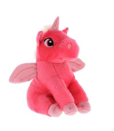 Peluche-Unicornio-Rosa-25-cm