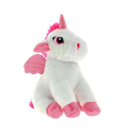 Peluche-Unicornio-Blanco-25-cm