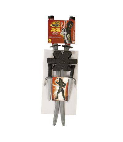 Accessoire-Costume-Set-epee-Ninja