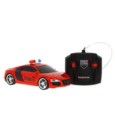 Coche-R-C-Policia-Rojo-Escala-1-24
