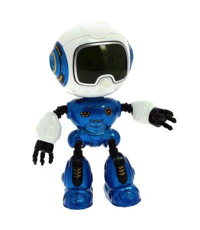 Robot-Iron-Warrior-Azul