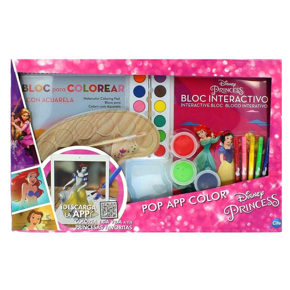 Princesas Disney Pop App Color