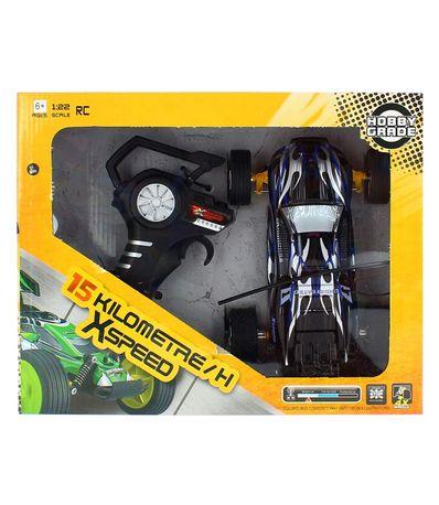 Coche-RC-Speed-Negro-Escala-1-18