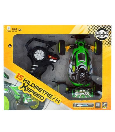 Coche-RC-Speed-Verde-Escala-1-18